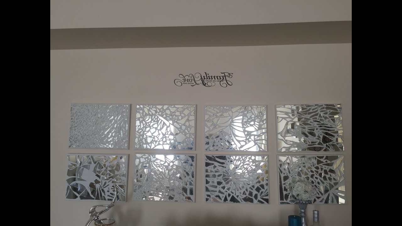 D I Y Mosaic Mirrored Wall Art (View 3 of 15)