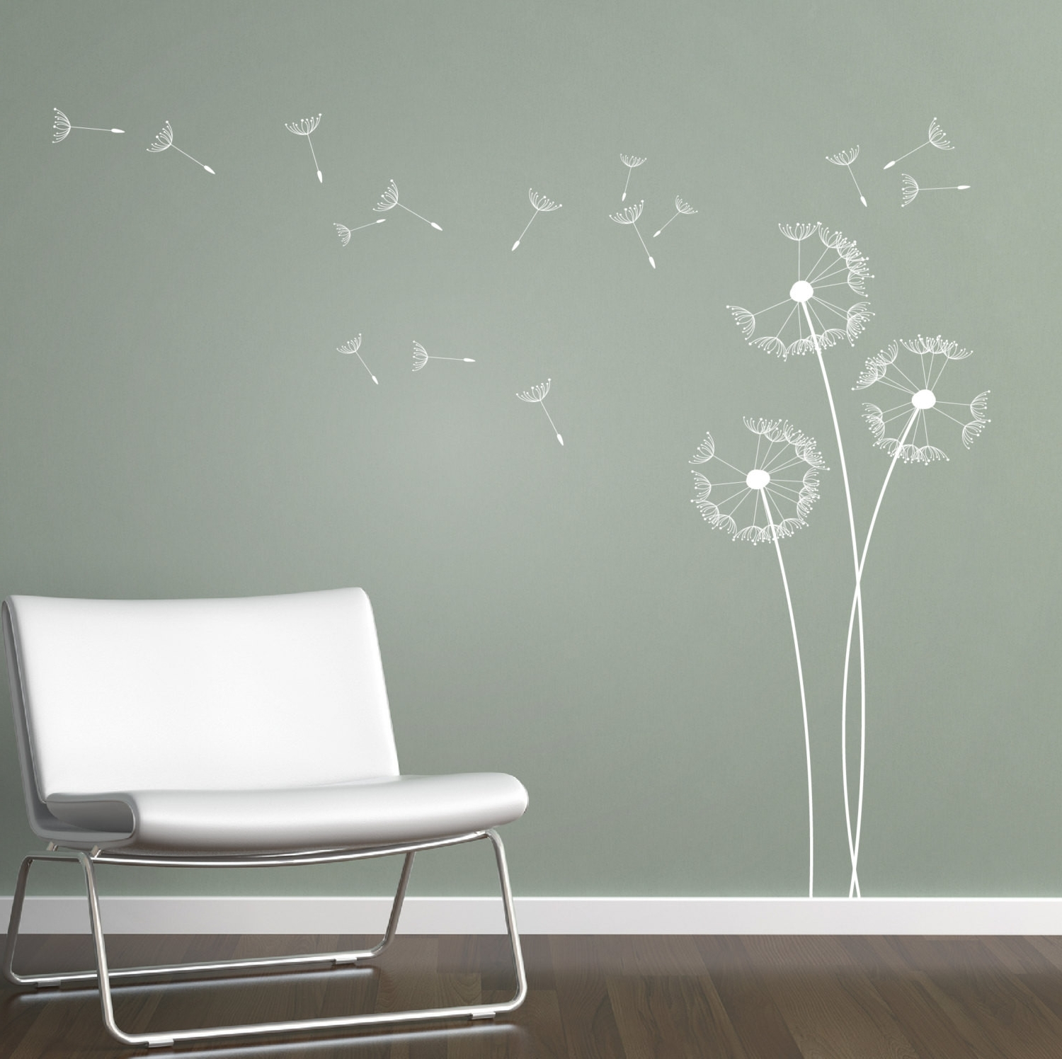 Dandelion Wall Art With Most Current Fresh Wall Decals Dandelion Blowing (View 4 of 15)
