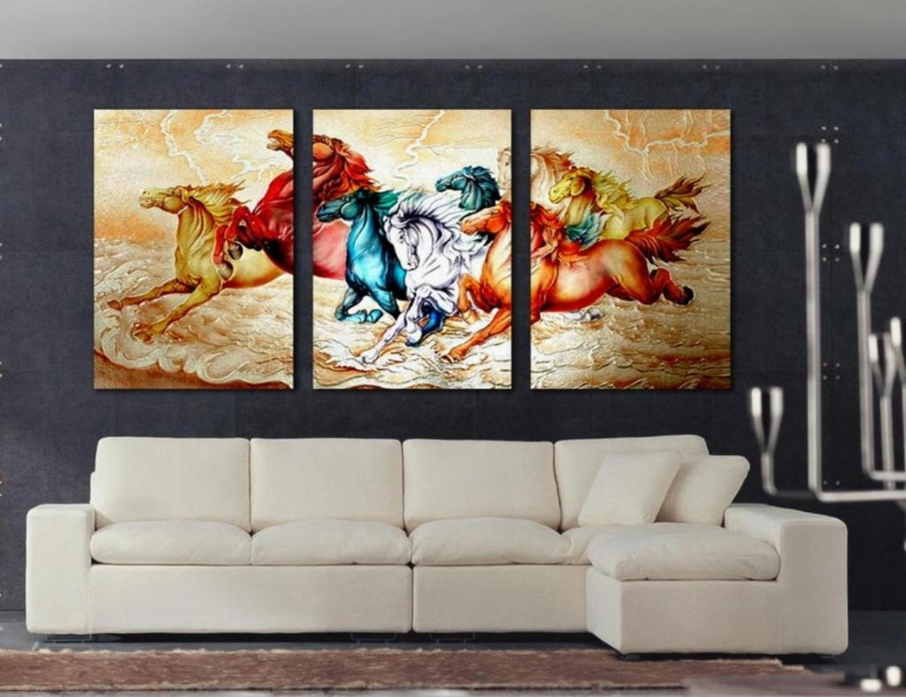 Decorations : Best Modern Wall Painting Decorating Design Ideas With Regarding Most Recently Released Contemporary Wall Art Decors (View 5 of 15)