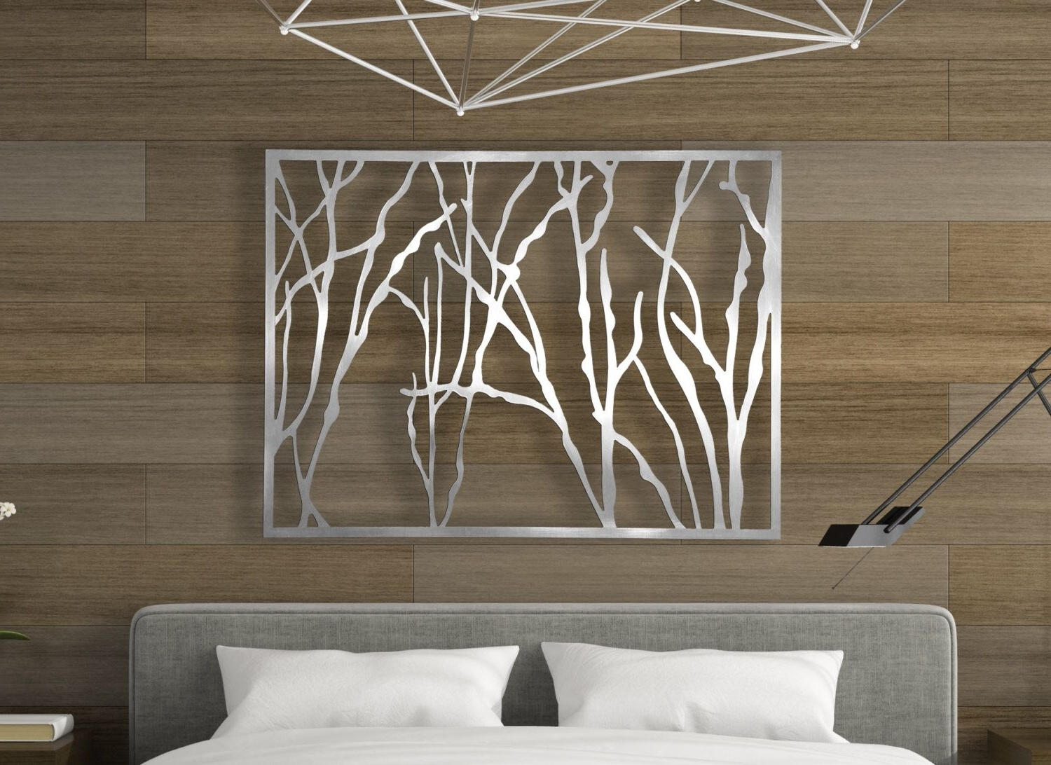 Decorative Wall Art In Well Liked Laser Cut Metal Decorative Wall Art Panel Sculpture For Home, Office (View 5 of 15)
