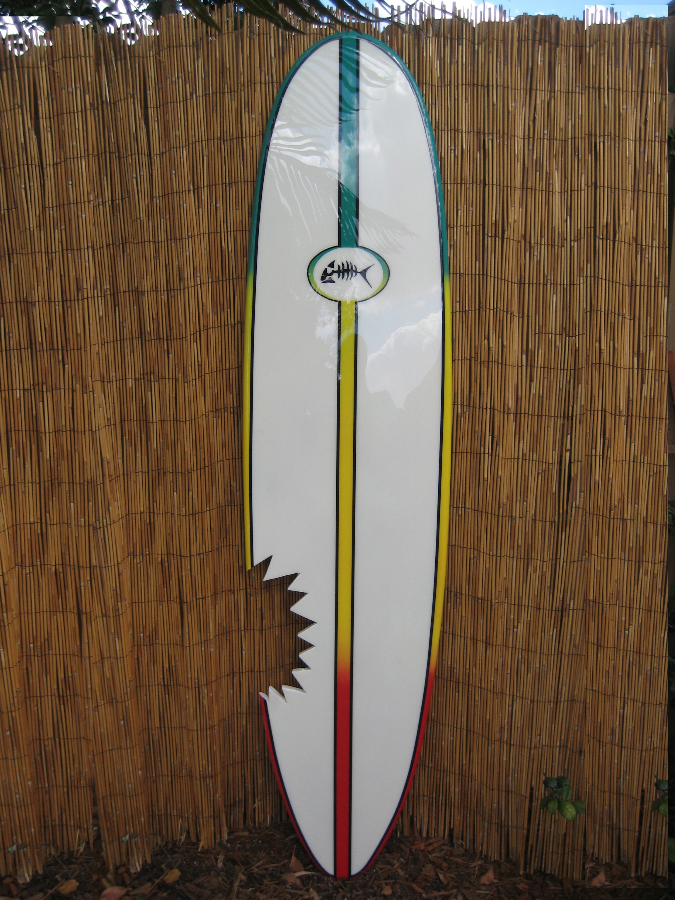 Decorative Wood Surfboard Art Wall Surf Surfboard Decor Intended For Most Up To Date Surfboard Wall Art (View 4 of 15)