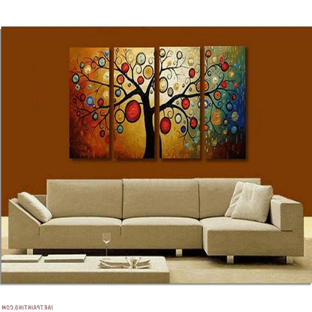 Decozilla Pertaining To Modern Painting Canvas Wall Art (View 6 of 15)