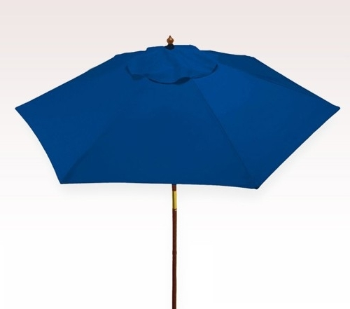 Design Of Blue Patio Umbrella Vinyl Patio Umbrellas Ashery Design Pertaining To Widely Used Vinyl Patio Umbrellas (View 2 of 15)