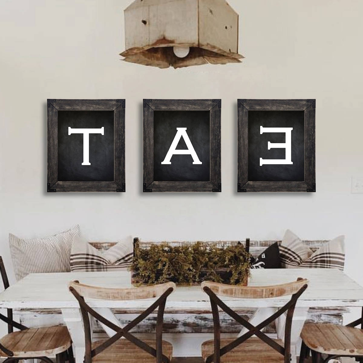 Dining Room Wall Art In Well Liked Farmhouse Decor. Eat Sign. Dining Room Wall Art (View 10 of 15)