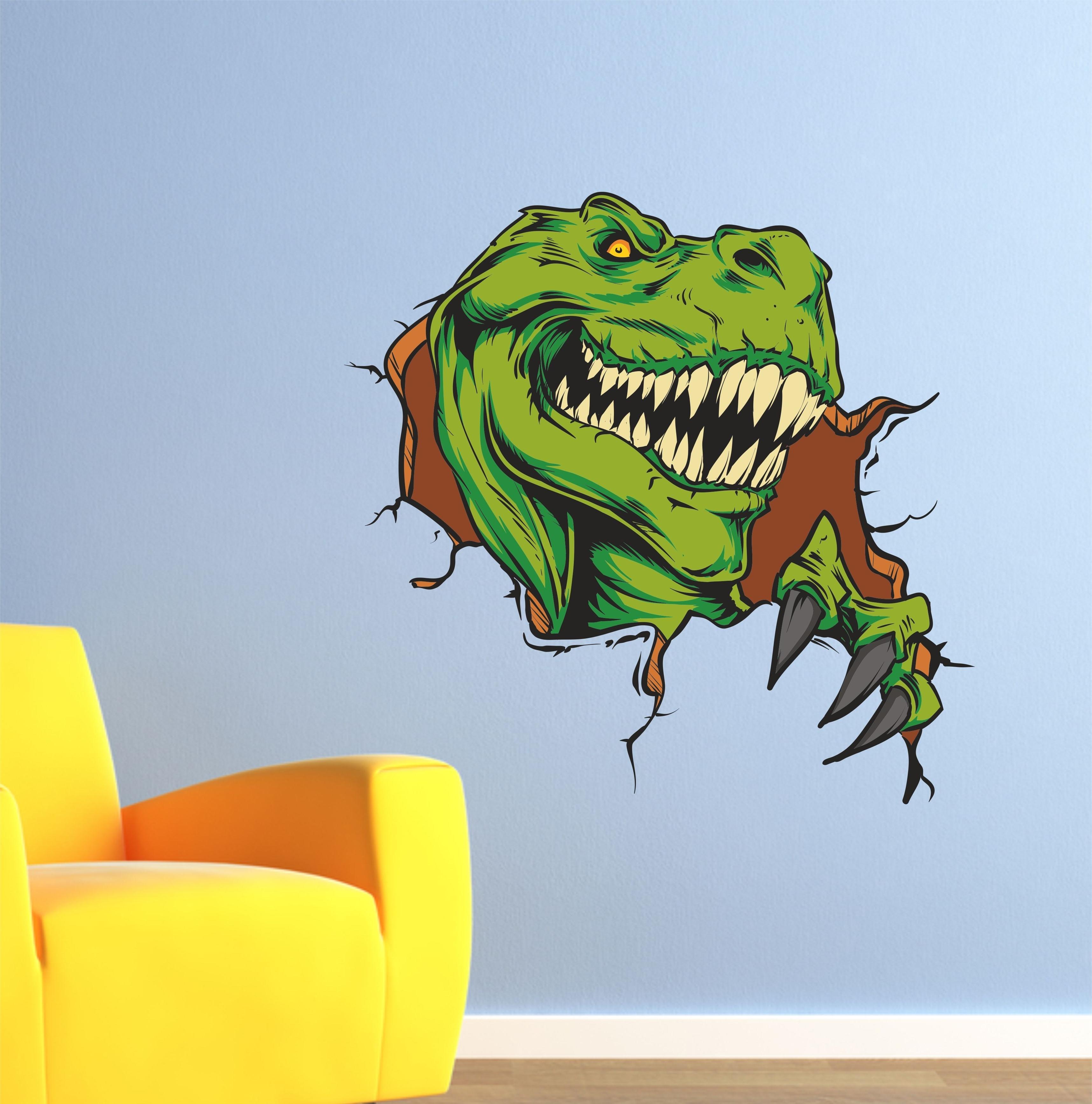 Dinosaur Wall Art In Most Popular The Grafix Studio (View 4 of 15)