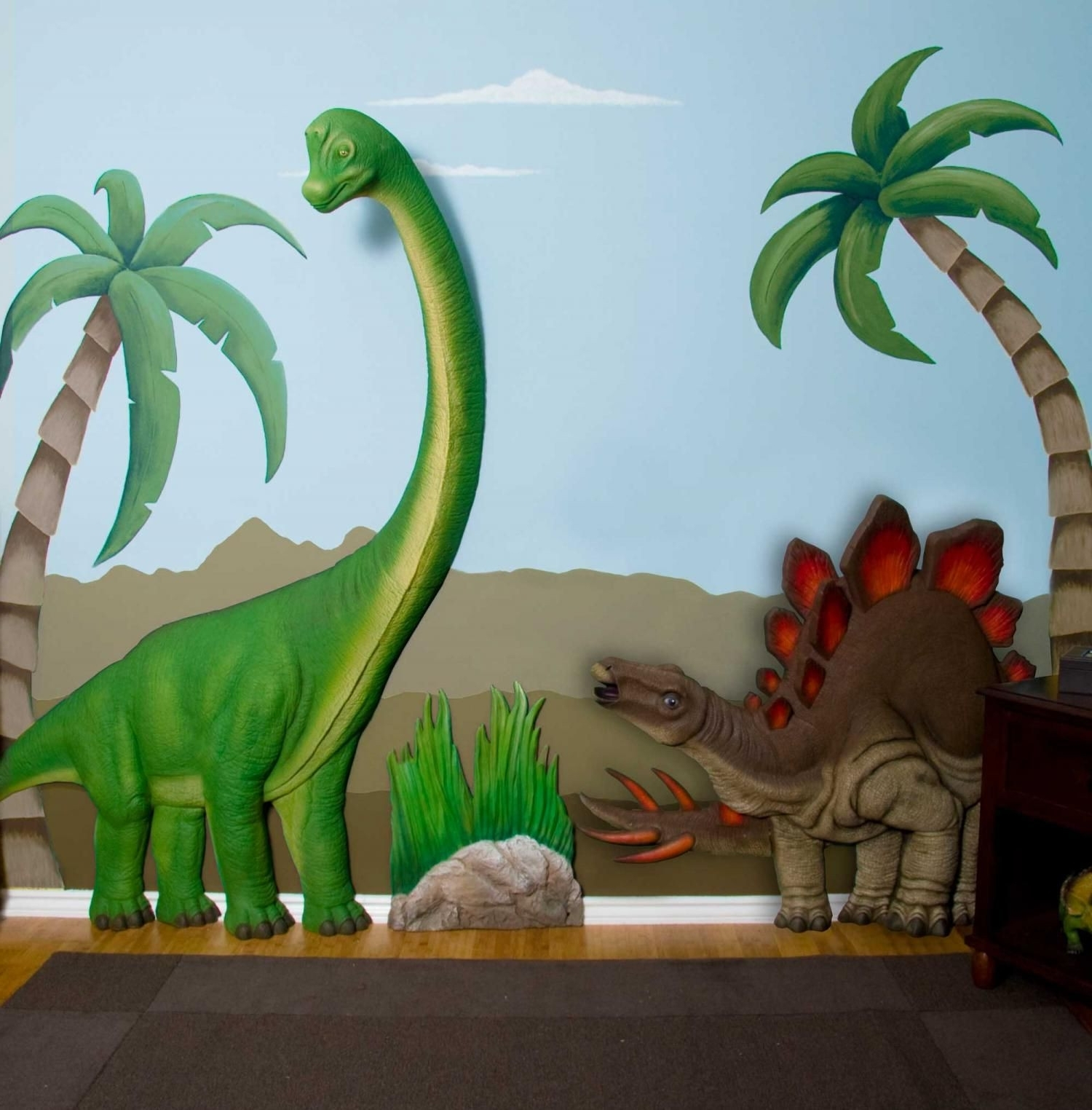 Dinosaur Wall Art Www Fitful Info Outstanding Stretched Canvas Inside Fashionable Dinosaur Wall Art (View 7 of 15)