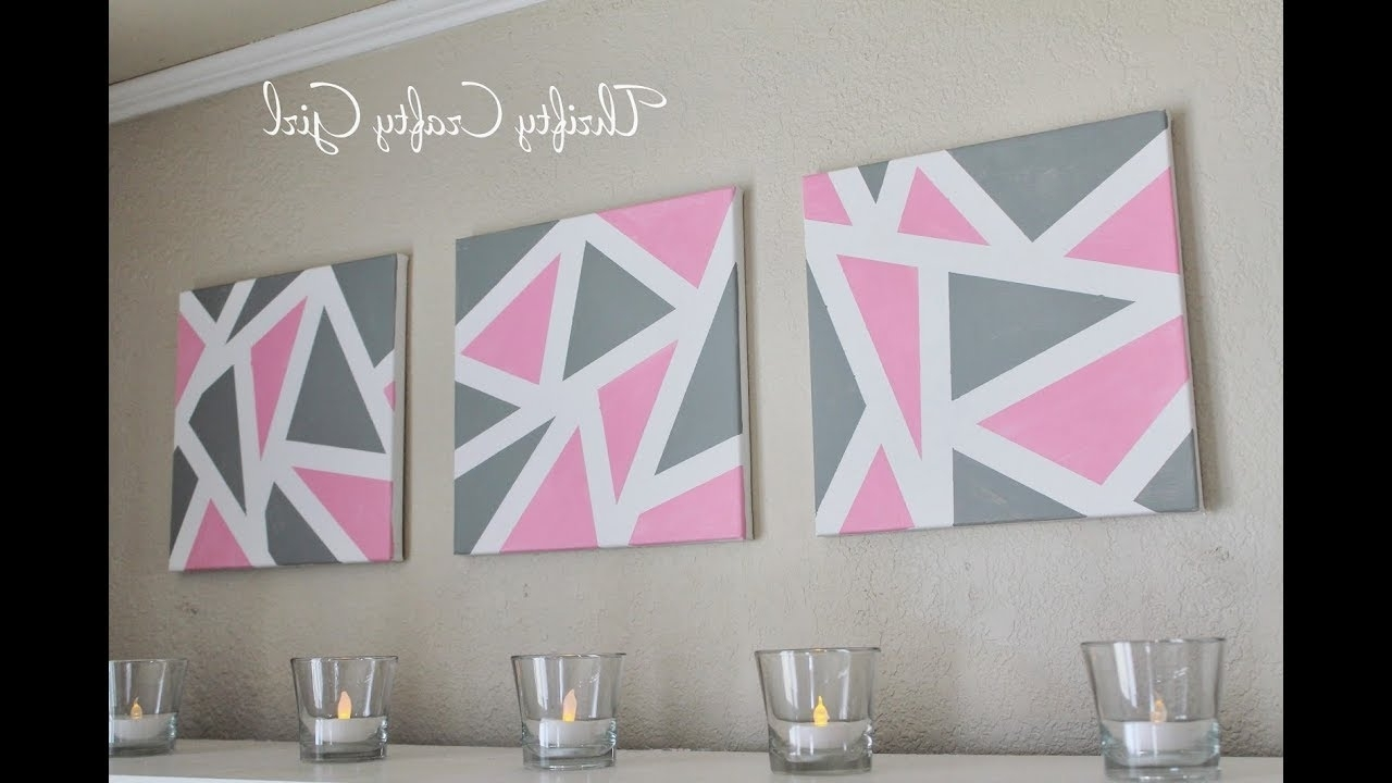 Diy Abstract Metallic Wall Art (View 6 of 15)