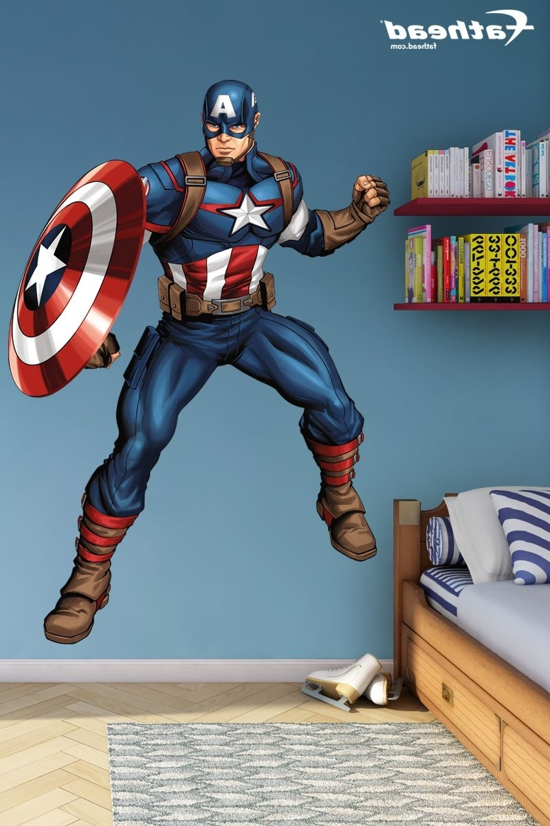 Diy Pertaining To Captain America Wall Art (View 9 of 15)