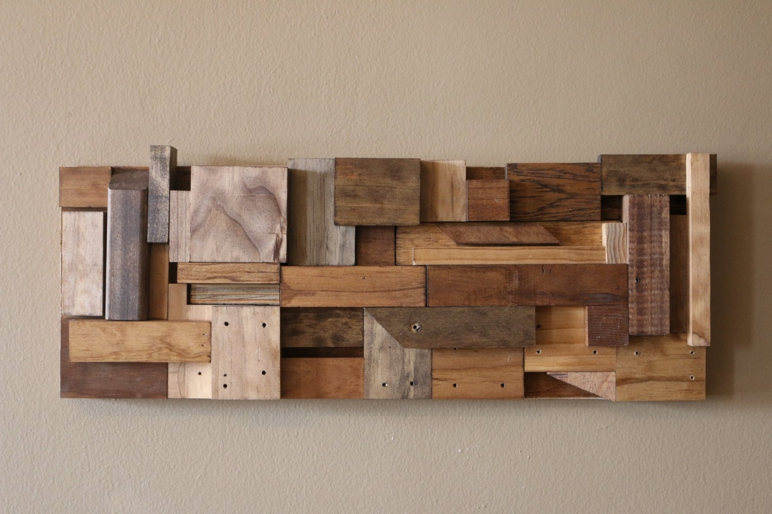 Diy Wood Wall Art Throughout Preferred Wooden Wall Art Decor Ideas – Home Interior Design (View 7 of 15)