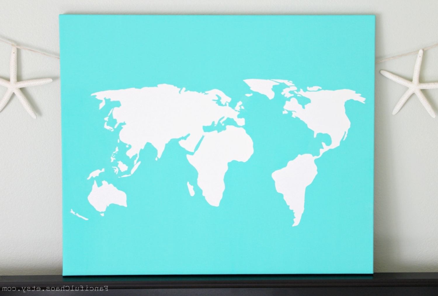 Diy World Map Wall Art Within Well Known Il Fullxfull 540289865 6G0P Jpg Version 0 For Diy World Map Wall (View 6 of 15)