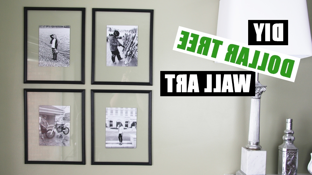 Dollar Store Diy Gallery Wall pertaining to Favorite Wall Art Cheap
