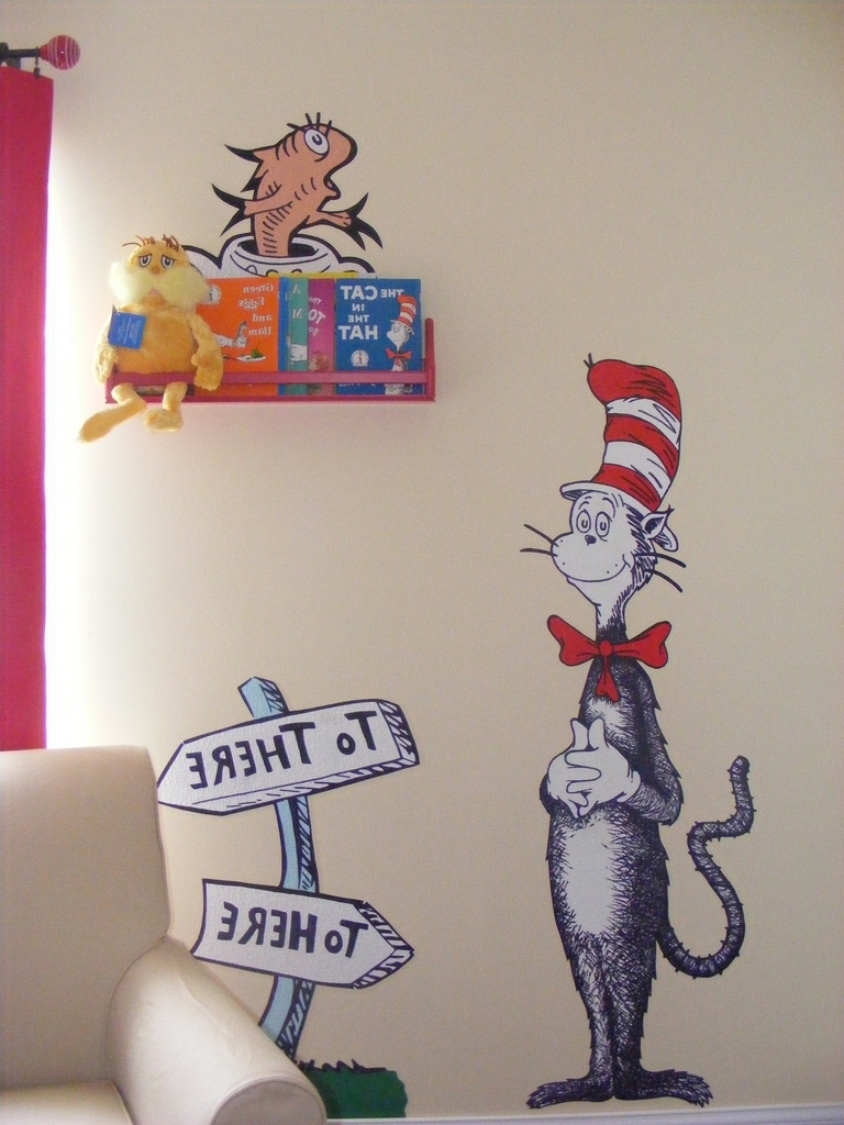 Dr Seuss Wall Art In Favorite Dr Seuss Dr (View 12 of 15)