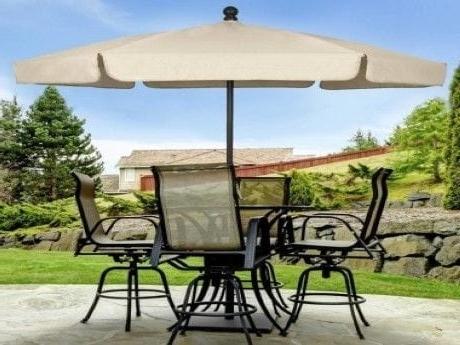 Drape Patio Umbrellas With Regard To Most Recent Outdoor Patio Umbrellas Ultra Durable (View 13 of 15)