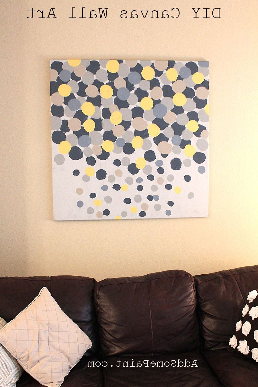 Easy Canvas Art Ideas (View 5 of 15)