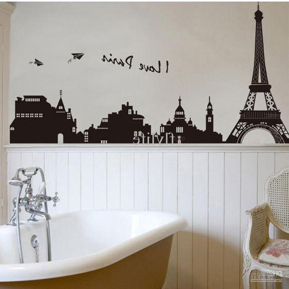 Eiffel Tower Wall Art Throughout Current Romantic Eiffel Tower Wall Art : Andrews Living Arts – Eiffel Tower (View 12 of 15)