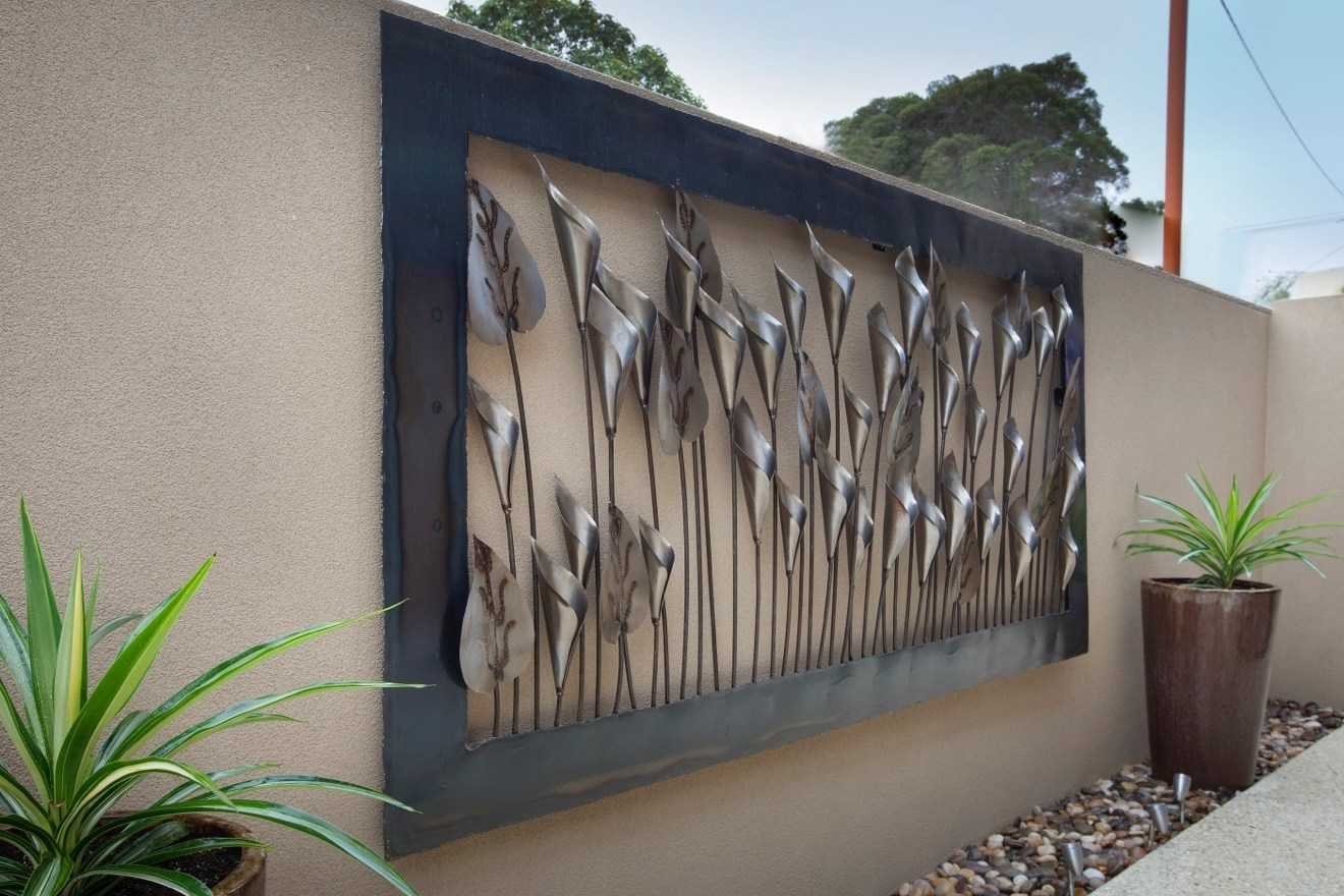 Enchanting Outdoor Wall Decor St Birthday Decorations Cheap Room Pertaining To Well Known Large Outdoor Metal Wall Art (Gallery 7 of 15)