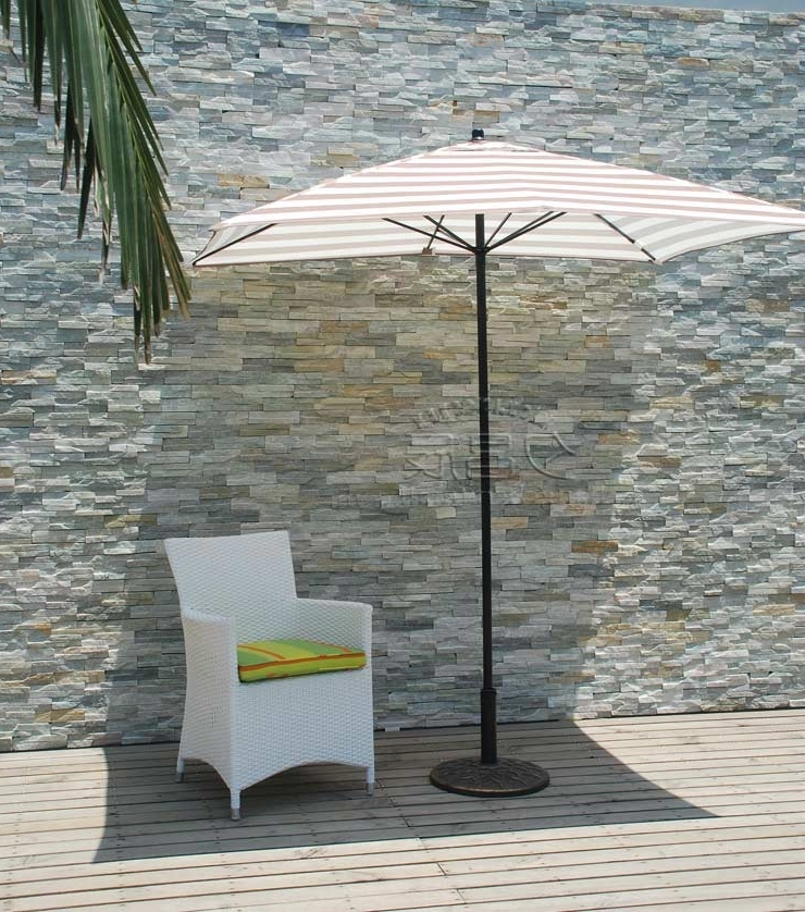 European Patio Umbrellas intended for Well-liked European And American Style Outdoor 2 M Rectangular Patio Umbrellas