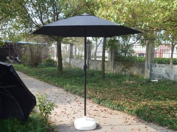 European Patio Umbrellas intended for Well-liked European Umbrella Outdoor Umbrellas Uv Sun Base Iron Pillar Holder