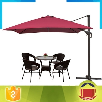 European Standard Level 4 Material Cantilever Patio Umbrellas – Buy Pertaining To Trendy European Patio Umbrellas (View 9 of 15)