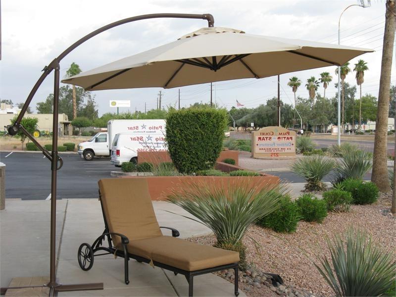 Eva Furniture With Regard To Offset Patio Umbrellas (View 2 of 15)