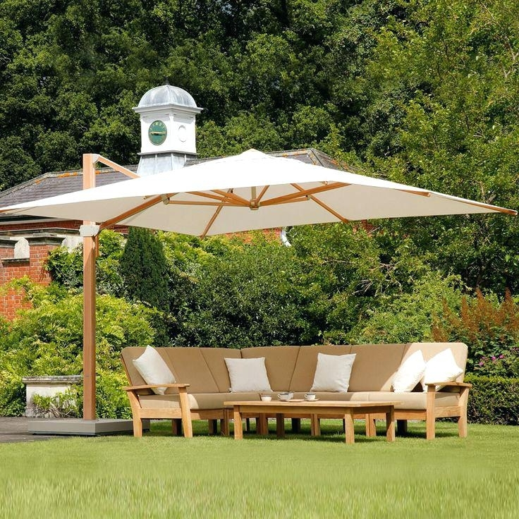 Exotic Patio Umbrellas Throughout Current Stylish Large Patio Umbrellas Cantilever Best Ideas Outdoor – Apliko.co (Gallery 13 of 15)