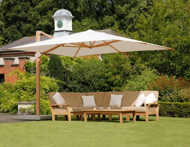 Expensive Patio Umbrellas Intended For Most Up To Date 7 Most Expensive Patio Umbrellas In 2017 – Cute Furniture (View 2 of 15)
