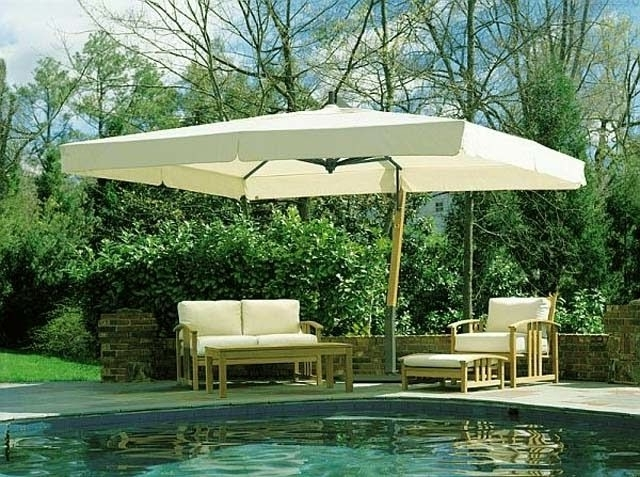 Extra Large Patio Umbrellas In Current Extra Large Patio Umbrellas Extra Large Patio Umbrella (Gallery 2 of 15)