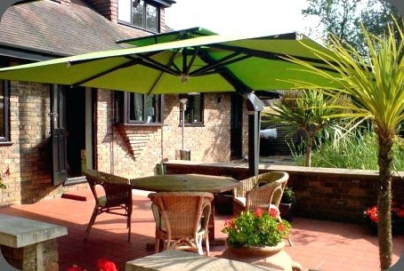 Extra Large Patio Umbrellas Pertaining To Latest Large Pool Umbrella Extra Large Outdoor Umbrella Offset Patio (Gallery 14 of 15)