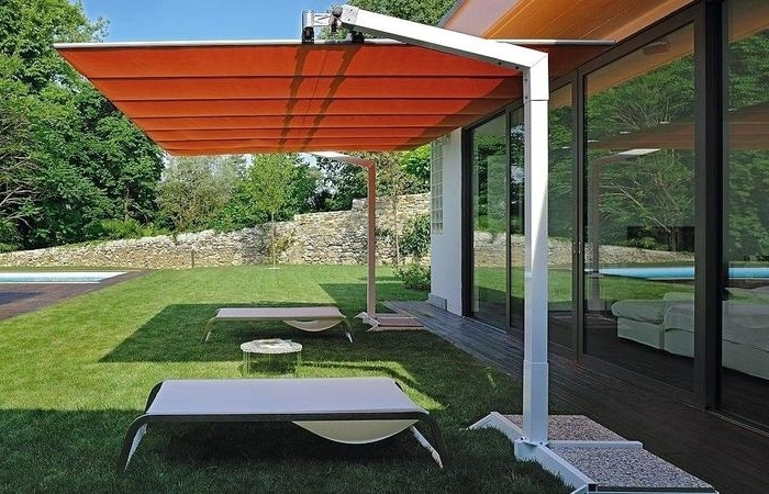 Extra Large Patio Umbrellas Throughout Latest Extra Large Patio Umbrella Oversized Post Outdoor Umbrellas (View 8 of 15)