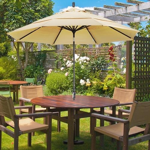 Fabulous 9 Ft Patio Umbrella Dual Wind Vent Patio Umbrellas Throughout Trendy 9 Ft Patio Umbrellas (View 11 of 15)