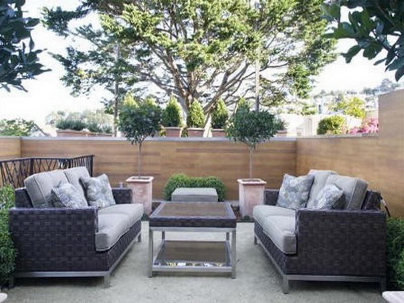 Fabulous Modern Outdoor Furniture For Small Spaces Contemporary Throughout Preferred Patio Umbrellas For Small Spaces (View 9 of 15)