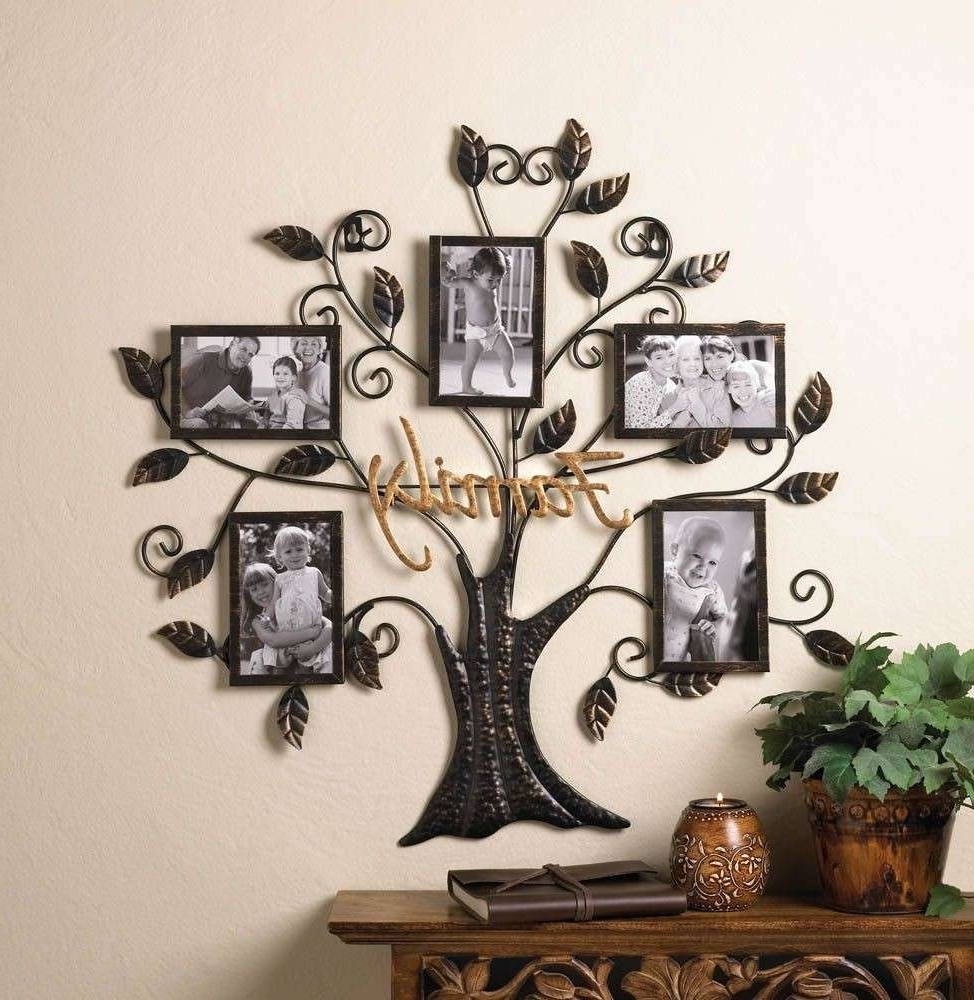 Family Tree Wall Art Metal – Bsparker Pertaining To Most Current Family Metal Wall Art (View 14 of 15)