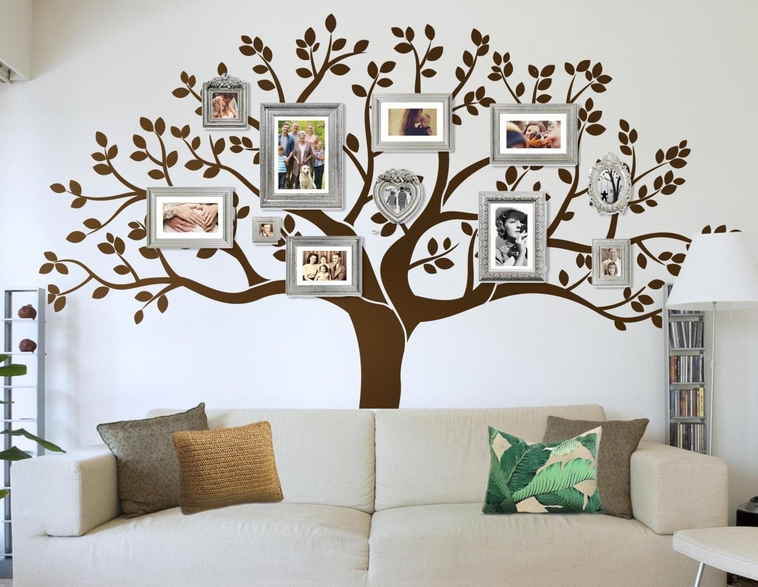 Family Tree Wall Art Throughout Widely Used Unique Family Tree Wall Art Decal Collection (View 4 of 15)