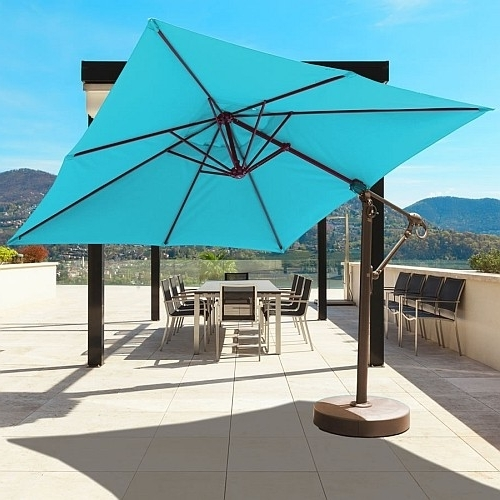 Famous 11' Sunbrella Patio Umbrellas (View 6 of 15)
