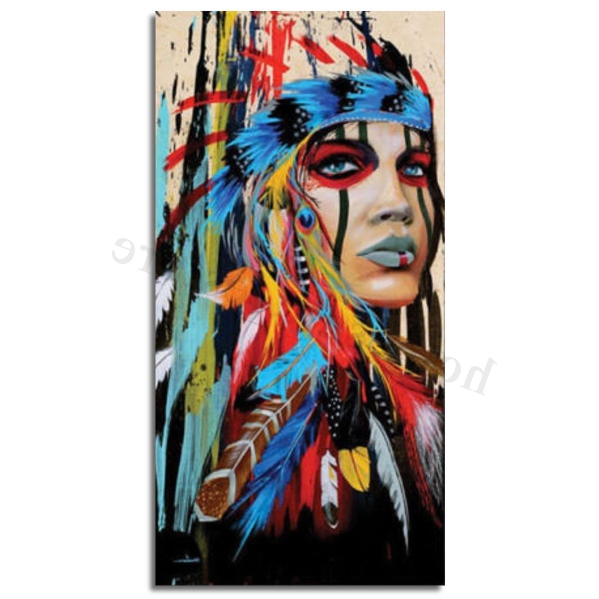 Famous Abstract Oil Painting Wall Art Inside Modern Abstract Oil Painting Canvas Wall Art Poster Print Picture (View 11 of 15)