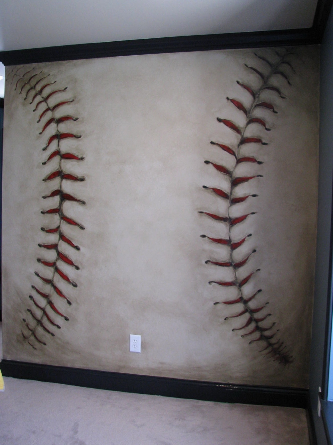 Famous Baseball Wall Art Inside Baseball Wall Art – Prix Dalle Beton (View 2 of 15)