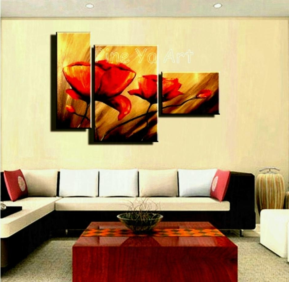 Famous Discount Wall Art Within Wall Art Designs Discount Piece Abstract Modern Canvas Within Most (View 7 of 15)