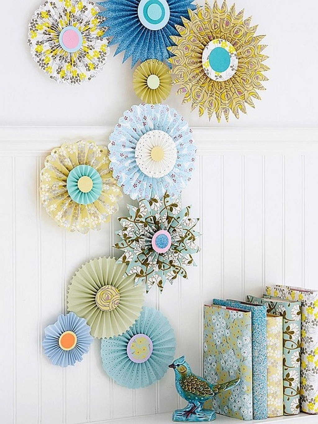 Famous Diy Projects: Paper Wall Art Crafts – Paper Inspired Décor: Fun Ways Intended For Paper Wall Art (View 8 of 15)