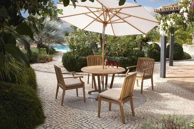 Famous Expensive Patio Umbrellas Intended For Best Luxury Outdoor Furniture Brands (View 13 of 15)