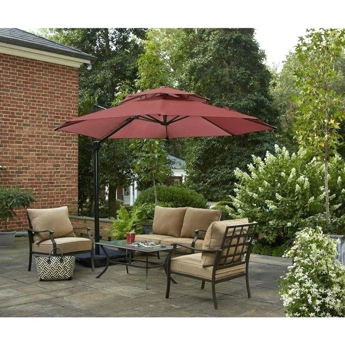 Famous Lowes Patio Umbrellas – Bakhxirealestate Throughout Lowes Patio Umbrellas (View 12 of 15)