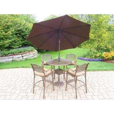 Featured Photo of Patio Umbrellas For Bar Height Tables