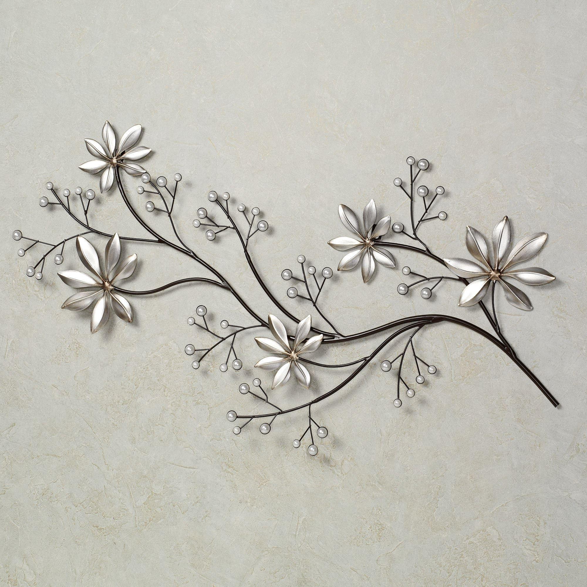 Famous Metal Flower Wall Art Regarding Lovely Metal Flower Wall Art – Kunuzmetals (View 5 of 15)
