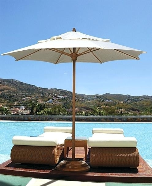 Famous Patio Furniture With Umbrellas Intended For Patio Table Umbrellas Outdoor Patio Furniture Umbrellas Patio Table (View 2 of 15)