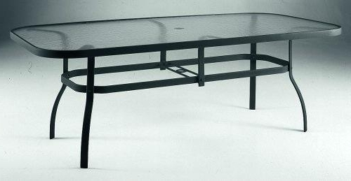 Famous Patio Tables With Umbrella Hole Intended For Rectangle Patio Table Umbrella – 2Ii (View 1 of 15)