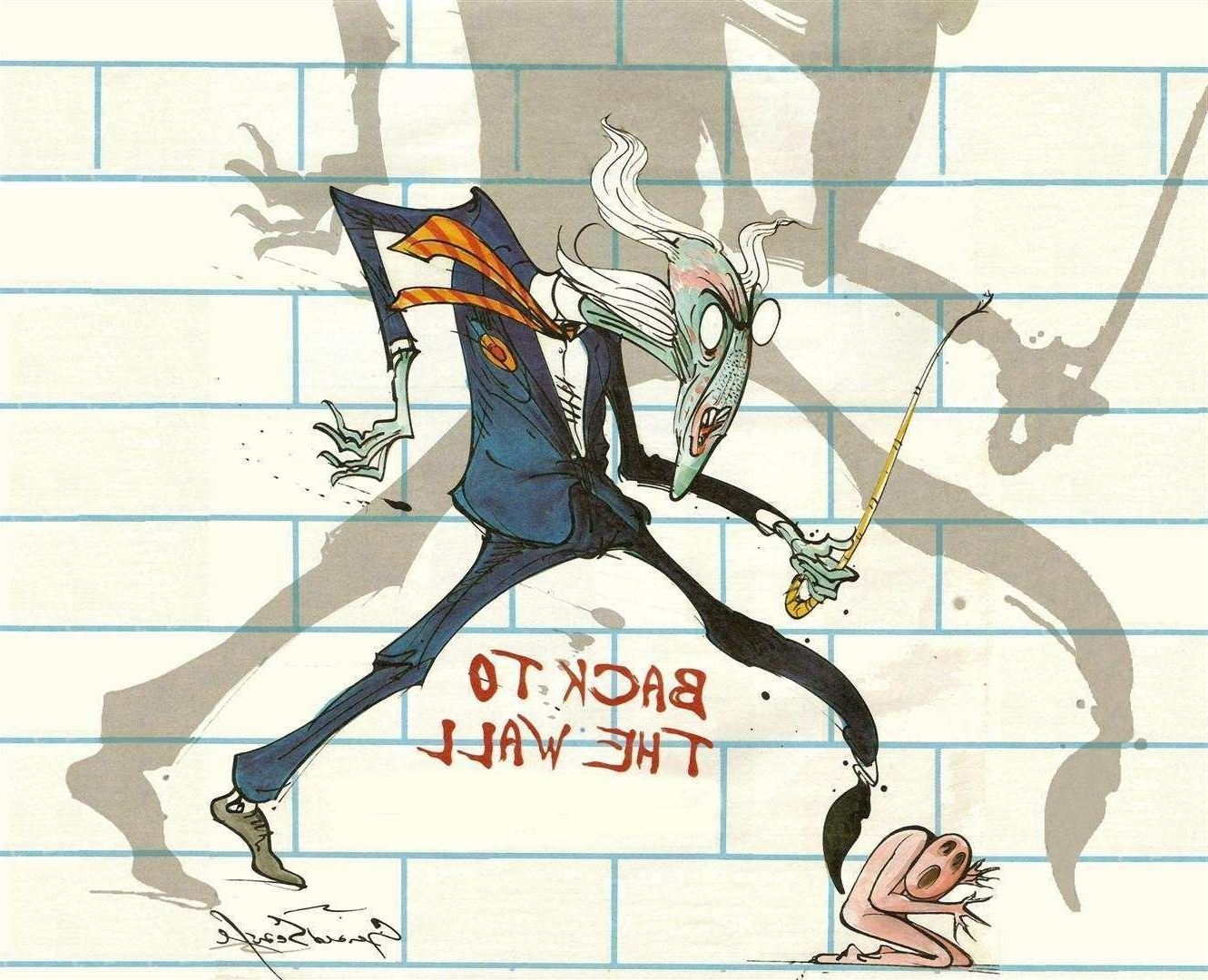 Famous Pink Floyd The Wall Art With Pink Floyd The Wall Art Inspirational From Pink Floyd S The Wall (View 7 of 15)