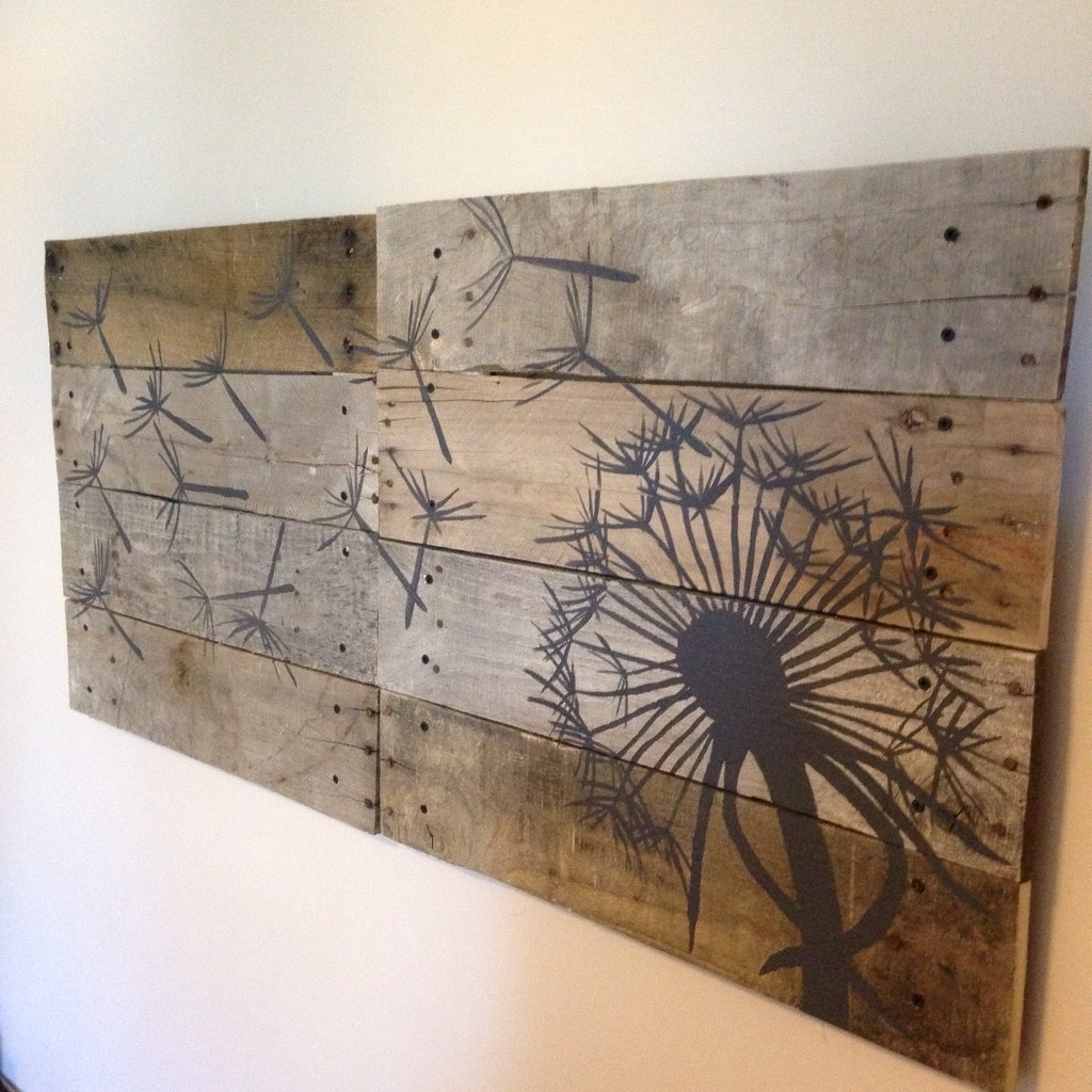 Famous Plank Wall Art Within Wood Plank Wall Hanging Large Wood Plank Wall Art Andrews Living (View 8 of 15)