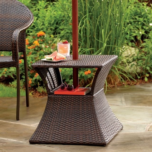 Famous Side Table With Umbrella Hole (View 2 of 15)