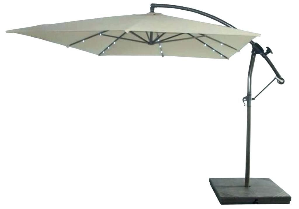 Famous Solar Lighted Patio Umbrellas Fascinating Lighted Patio Umbrella Regarding Lighted Patio Umbrellas (View 8 of 15)