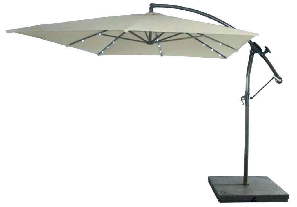 Famous Solar Lighted Patio Umbrellas Fascinating Lighted Patio Umbrella Regarding Lighted Patio Umbrellas (View 4 of 15)