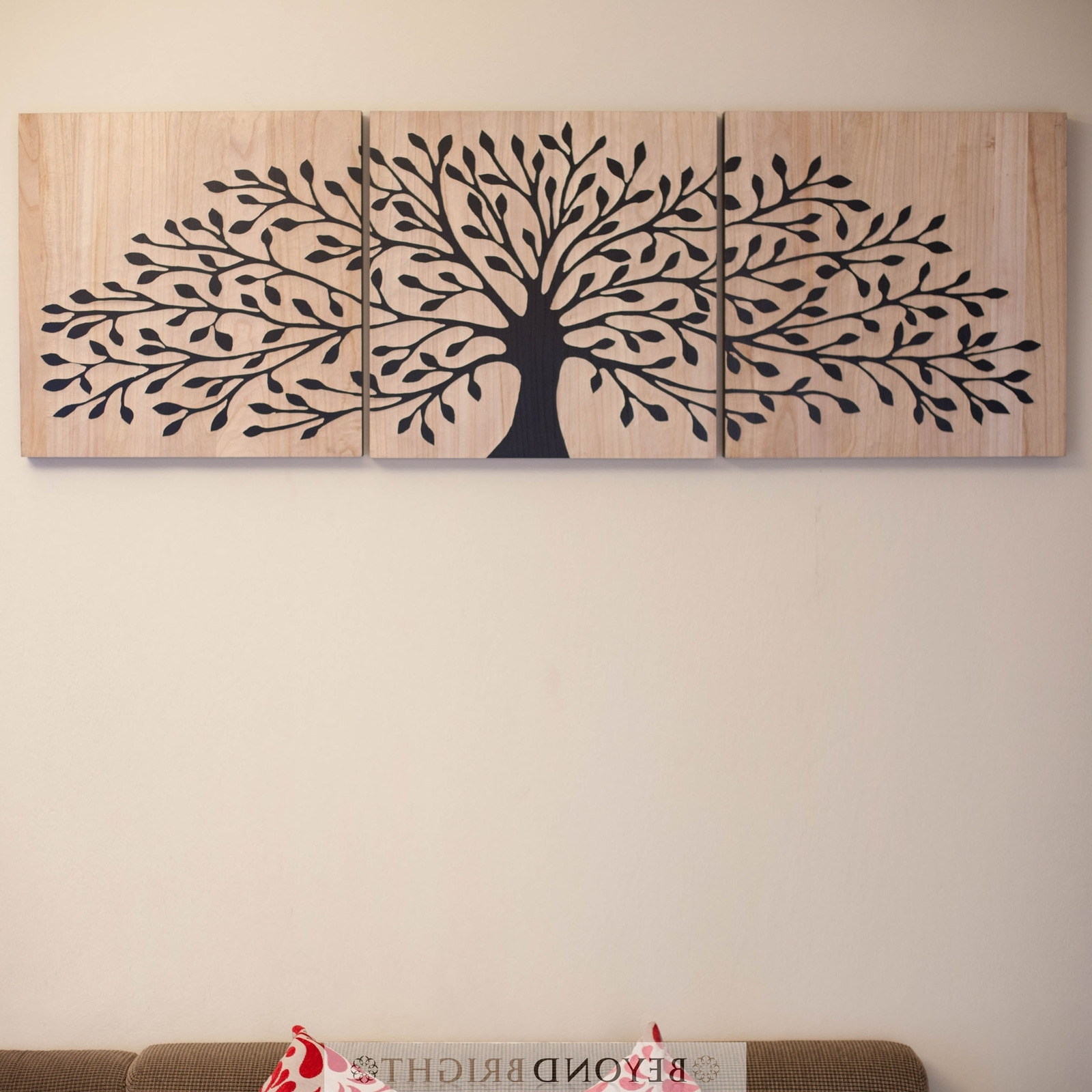 Famous Tree Of Life Wall Art For Tree Of Life Wooden Timber Carved Wall Art Blck Mangowood Carving (View 9 of 15)